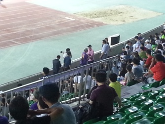 Either the Anyang mayor or a very popular ajussi!