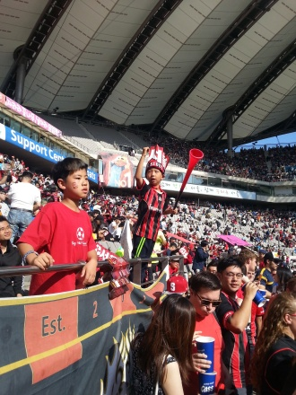 A Couple of Young FC Seoul Fans